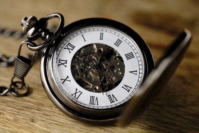 mudança de horário